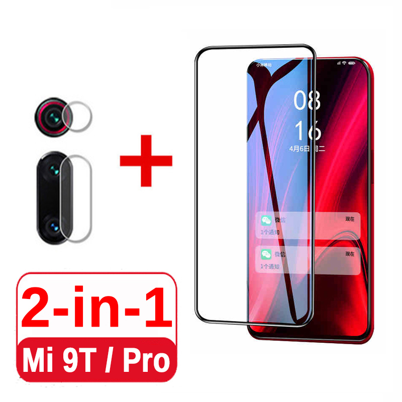 9D Full Glue Tempered Glass For <font><b>Xiaomi</b></font> <font><b>Mi</b></font> <font><b>9t</b></font> Screen <font><b>Protector</b></font> & <font><b>Camera</b></font> Lens On Xiomi Xiami <font><b>Mi</b></font> <font><b>9t</b></font> 9 t Pro Protective Glass Film image