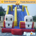Inflatable Biggors Cute Rabbit Inflatable Slide PVC High Quality Jumping Castle Bounce House