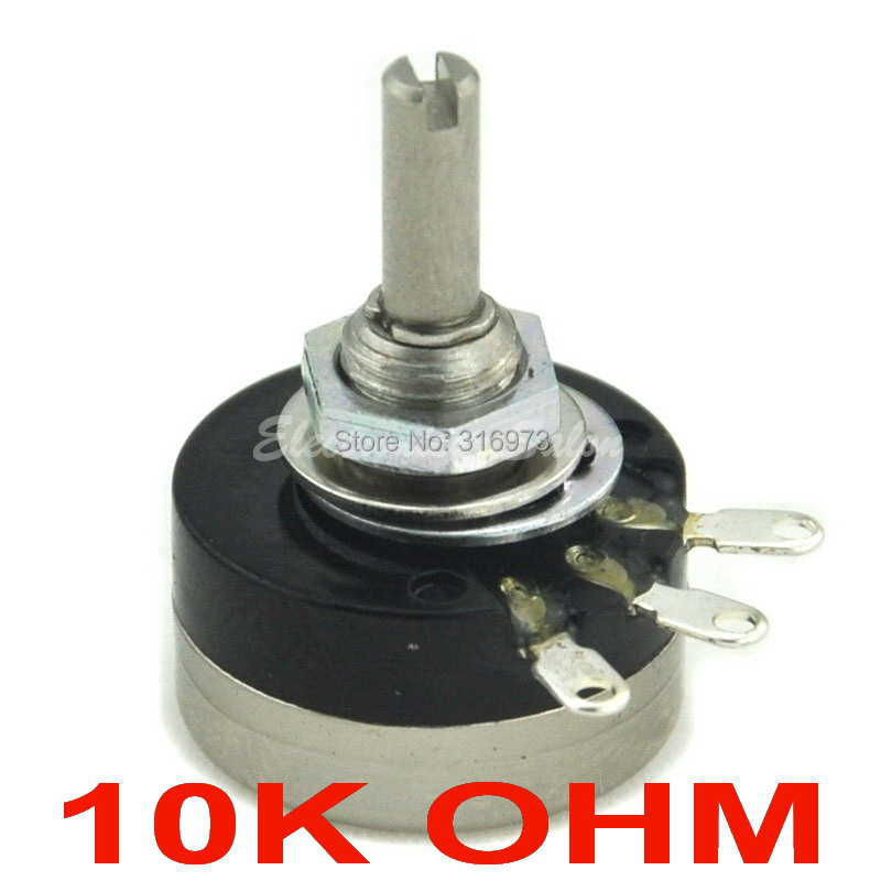 10 pcs lot RV16YN 15S B103 COSMOS TOCOS 10K OHM Industrial Panel Controls Rotary Potentiometer