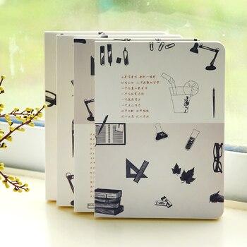 цена New School Notebook Cute Diary Note book 112 Sheets Creative Trends Notepad Office school supplies Gift онлайн в 2017 году