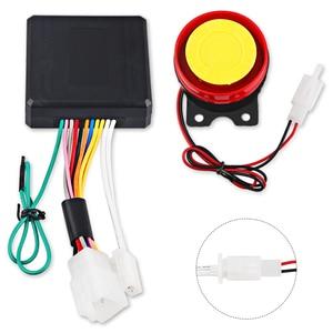 Универсальная сигнализация для мотоцикла, велосипеда, скутер, Противоугонная сигнализация, дистанционное управление, запуск двигателя + Колонка Alarme Moto