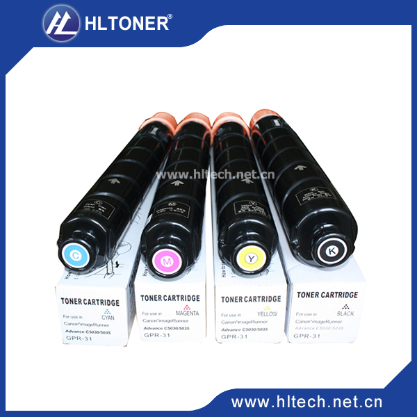 ФОТО Compatible Canon Toner kit  GPR-31 For Color IR-ADV C5235/C5240/C5030/C5035