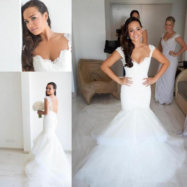 1d9725c2d31b New Arrival Item Designer Steven Khalil Mermaid Lace Bodice Open Back Long Wedding  Dress Bridal Gown Women vestido de noivas