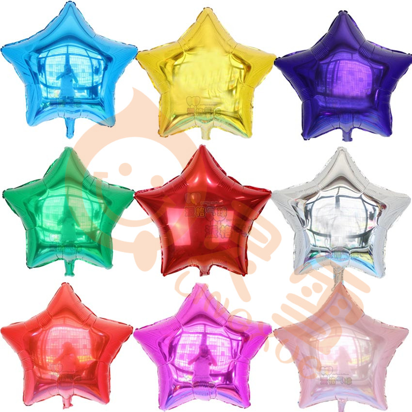 10pcs/lot 18inch Star Balloons Birthday Wedding Party Decoration Baloon Baby cla