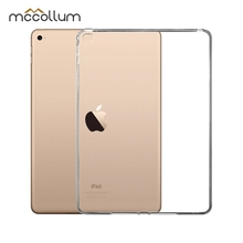 Soft Silicone Tablet Case For Apple iPad Air 2 Case Ultra-thin Cover For iPad Air2 Cover Back Coque Housing Transparent Bags gold colos soft transparent tpu back case cover silicone for apple ipad air 2 9 7inch protective shell skin tablet m2c42d