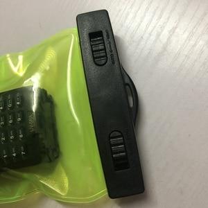 Image 2 - Funda impermeable para walkie talkie Kenwood Baofeng UV 5R Quansheng Hyt TYT, 2 uds.
