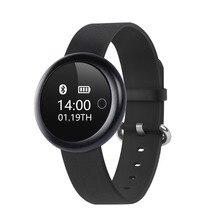 Новинка 2017 года A18 сердечного ритма Смарт Браслет с удаленным Камера Поддержка Шагомер Bluetooth Будильник наручные часы для IOS телефона Android