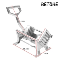 Alloy Steel French Home Kitchen Fry Fries Potato Chips Strip Cutting Cutter Machine Maker potatoes tools