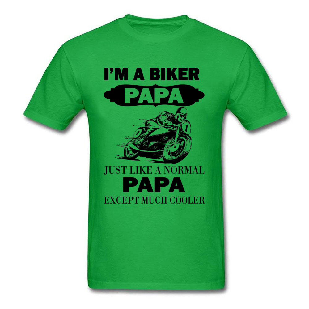 HTB1vygumiOYBuNjSsD4q6zSkFXaV - Biker Papa Cooler Father T-shirt Summer Grey Tops Men T Shirt Funny Design Clothing Father's Day Gift Tshirt Moto Lover