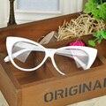 1 unids modelado de moda de ojo de gato de cristal marco de espectáculo vidrios planos de marco lx envío gratis * HM458 * 5