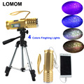 LOMOM USB Professional Fishing Light 20W 4 Colors T6 Led Flashlight For Fishing Hunting Equipment Tripod UV Flashlight