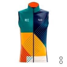 Sleeveless Cycling vest clothing Men RCC Raphp 100% Polyester Breathable Bike jersey/ Chaleco de ciclismo/ Veste cycliste Gilet