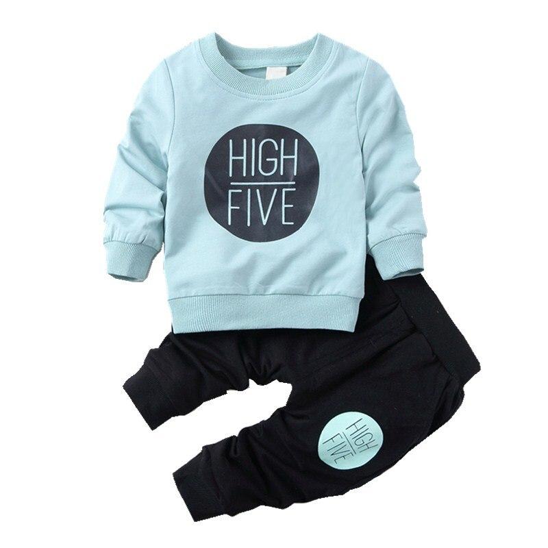 2017 autumn children school jogging tracksuit set casual sweatshirt + pants kids boy girl clothes sports suits leisure outfits