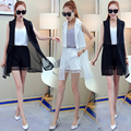 2 -Piece Suits Sleeveless Chiffon Vest + Shorts Fashion Women Summer Clothing Sets