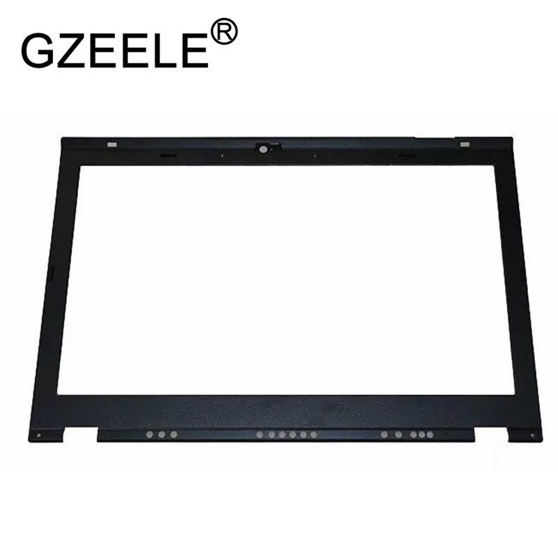 GZEELE NEW For Lenovo For Thinkpad T420S T430S LCD Front Bezel Screen Frame Cover With Camera Hole 04W1675 0A86539