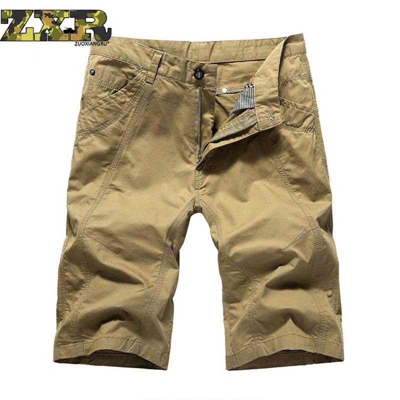 New Summer Mens Army Cargo Work Casual Bermuda Shorts Men Classic Fashion Overall Trousers Plus Size Masculina Beach Mma Short