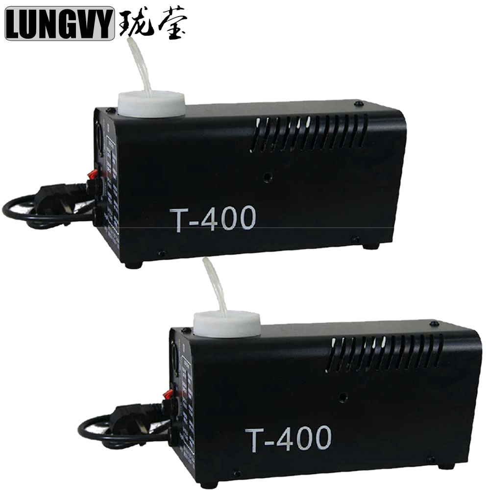 Free Shipping 2pcs/Lot 400w Wire Control Smoke Machine Fogger Stage Lighting