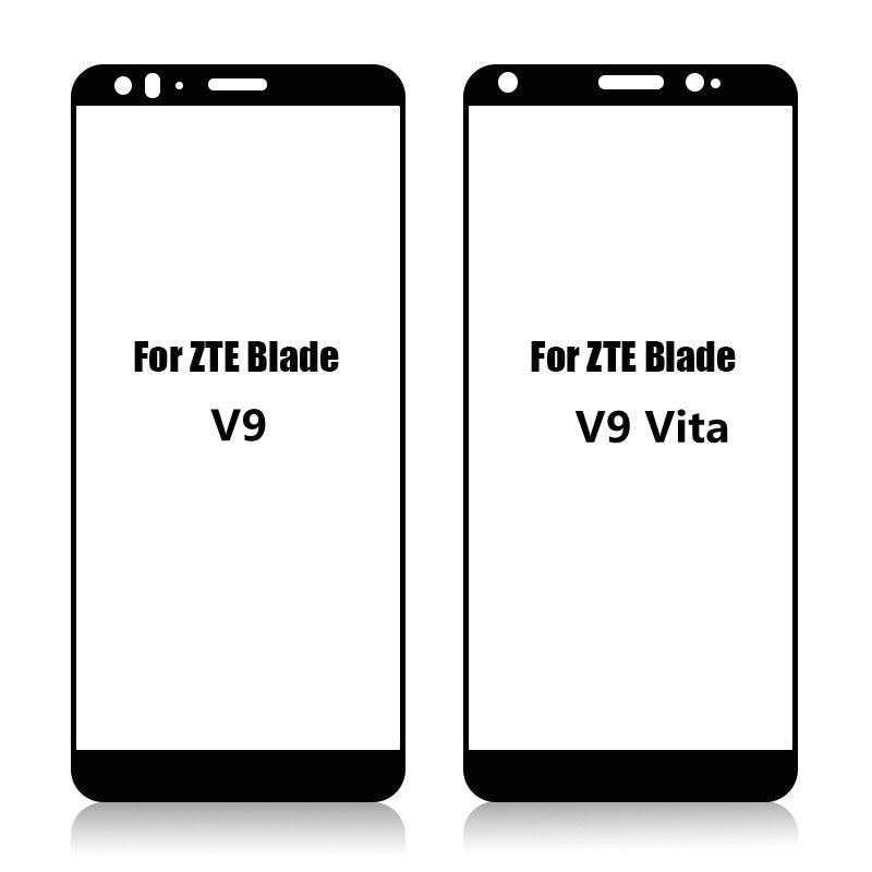 3D Tempered Glass For ZTE Blade V9 Full Screen Cover Screen Protector Film For ZTE Blade V9 Vita