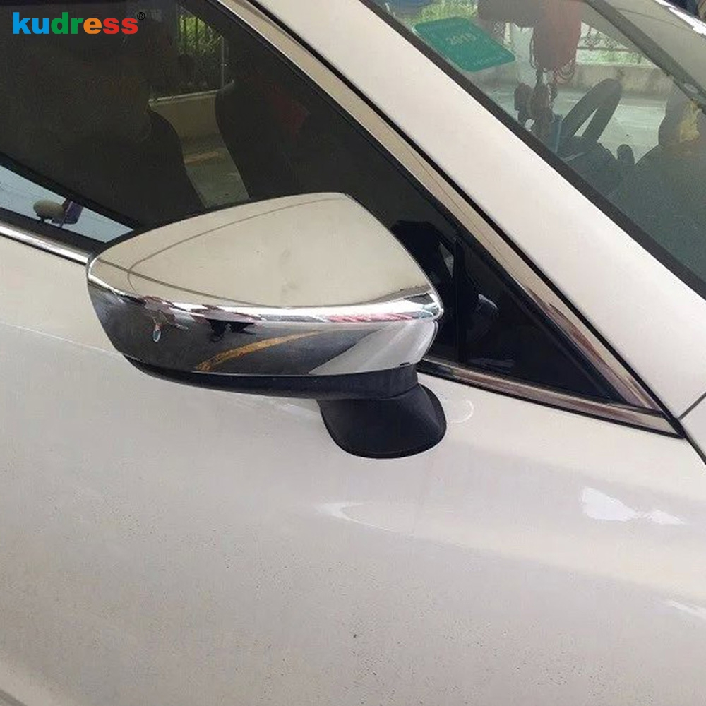 For Mazda 6 Atenza 2018 2019 Side Rear View Mirror Stickers Cover Wing Mirror Back Mirror Trim Car Mirrors