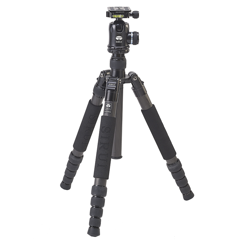 SIRUI N 3205X K30X Carbon Fiber font b Tripod b font Head Professional Photography Accessories Stable