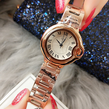 Luxury Brand Women's Watches Stainless Steel Band Quartz Waterproof Leisure Watch Roman Scale Watch Wrist Watch white ceramics band design mens leisure watch