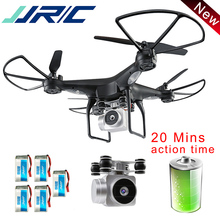 JJR/C JJRC H68 Drone with Camera 720P Quadcopter Altitude Hold Headless Mode RC Helicopter Outdoor Quadcopter 20 Mins  Fly Time