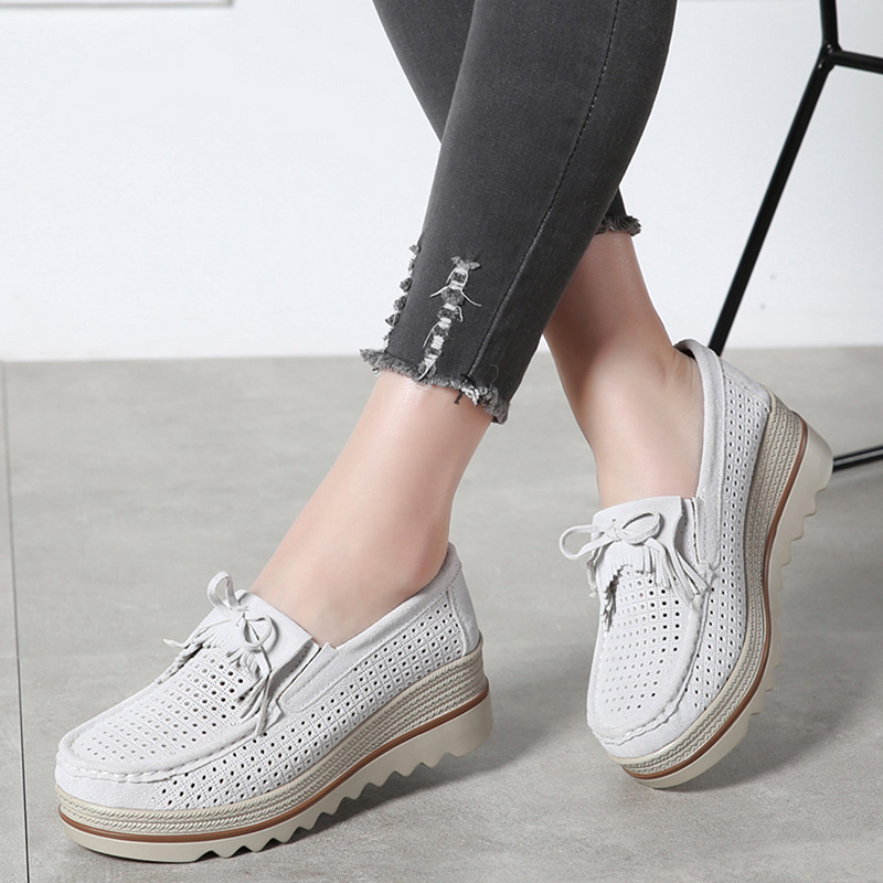 HX 3088 Platform Flats Shoes Women-15