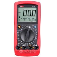 UNI T Multimeter UT107 LCD Automotive Handheld Multimeter AC/DC Voltmeter Tester Multi Meter with DWELL,RPM Multimetro Unit