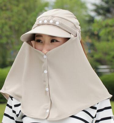 2016 летняя мода новый эластичный 360 градусов женщин ladys солнцезащитный крем анти-УФ шляпа солнца пробковый шлем открытый восхождение на лошадях крышка caps