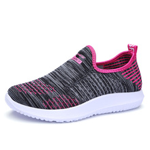 Black Old Beijing Cloth Shoes Women Sneakers Summer New Non-slip Mesh Air Lazy Womens Woman Trainers