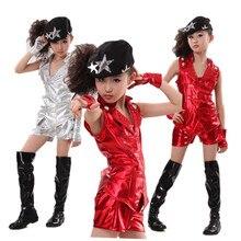 bd5a53ee12d0 Children Dance Costume Jazz Wear New Style hip-hop Dance Jazz Kids Dance  Competitions Performance