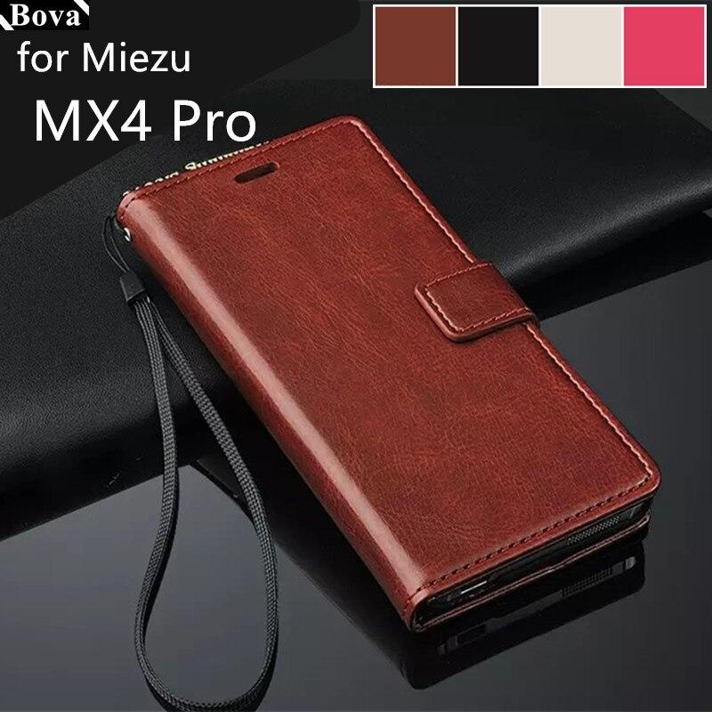 """Για θήκη για θήκη κάρτας MEIZU MX4 PRO 5.5 """"ιντσών Fundas για δερμάτινη θήκη MEIZU MX4 PRO δερμάτινη θήκη εξαιρετικά λεπτού πορτοφολιού"""