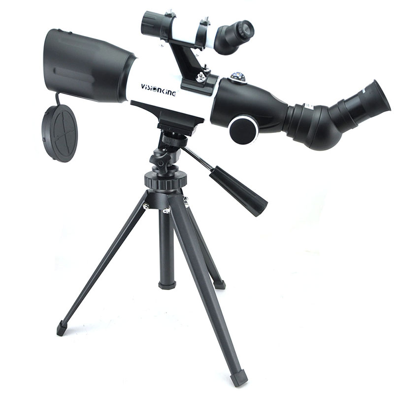 Visionking CF50350 Astronomical Telescope High Power 350 50mm Moon Sky Refractor Good Monocular Astronomy Scope With