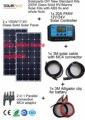 Solarparts 2x100 W Monocrystalline Солнечный Модуль высокая эффективность назад контакт системы солнечных батарей сотового DIY комплекты КОЛЕСАХ морской главная лагерь