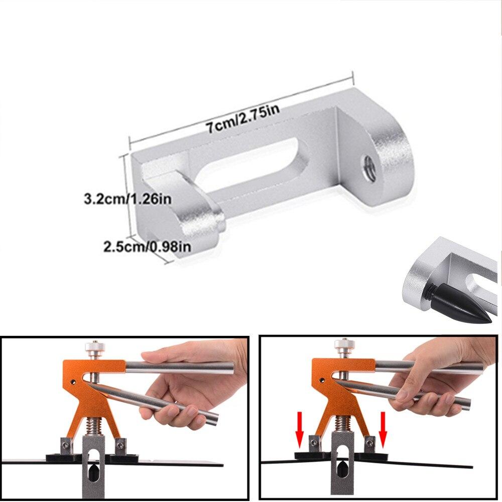 Ferramentas de pdr ferramenta de reparo automático porta borda mossas removedor carro fender reparação dent roda sobrancelha com levantador reparação dent ferramentas