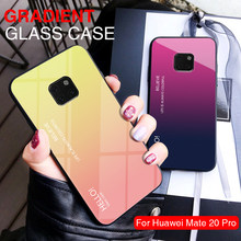 For Huawei Honor 8X Case Glass Luxury Case on For Honor Note 10 Lite 7X 7A Coque For Huawei Mate 20 Pro 10 P20 Lite X Case Funda(China)