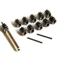 13pcs/set Spot Welding Drill Double Sided High Speed Rotary Spot Weld Cutter Drill Bit Tool
