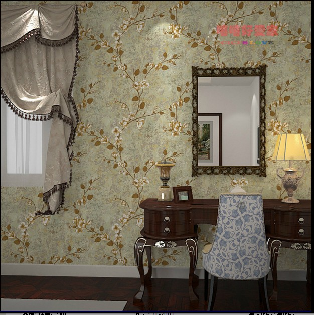 10m*53cm Fashion American rural idyll wallpaper Non-woven retro classic rural TV background wall paper wall stickers living room free shipping hepburn classic black and white photographs women s clothing store cafe background mural non woven wallpaper