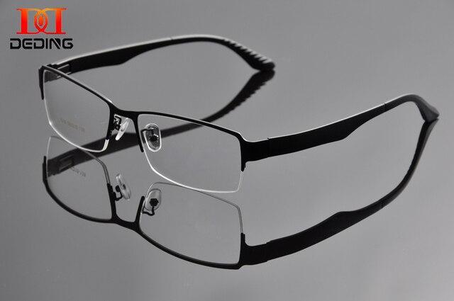 2015 Металл Больший размер Кадра Мужская Половина Кадров большая голова оптические Frame очки Негабаритных Очки Для широкого лица Мужчины DD0934