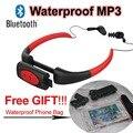 Bluetooth Impermeable IPX8 Reproductor de MP3 para la Natación Submarinismo Deportes Auriculares Estéreo de Auriculares de Audio de Teléfono A Prueba de agua Bolsa