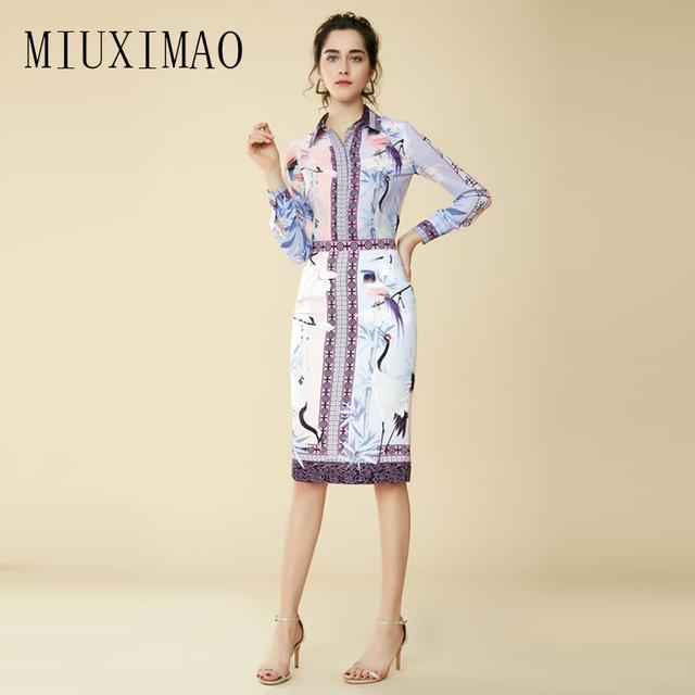 Custom Plus Size Dress Suit Sets 2 Piece Turn Down Collar Full Top