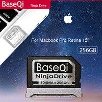 Оригинальный Baseqi Алюминий Minidrive с 256 ГБ для хранения Macbook Pro retina 15 дюймов год поздно 2013 до 2015