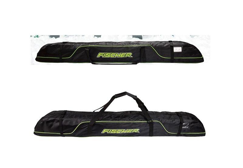 Pack de bâtons de Ski bottes de neige casque Portable porter épaule sac à main pour Double Snowboard imperméable Oxford housse 165 cm 175 cm - 6