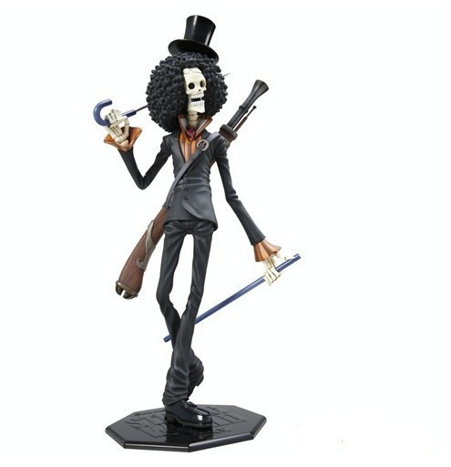 Singer BROOK collection anime model Garage Kit one piece pvc action figure classi Variable Action toy doll 4parts sets super lovely chopper anime one piece model garage kit pvc action figure classic collection toy doll