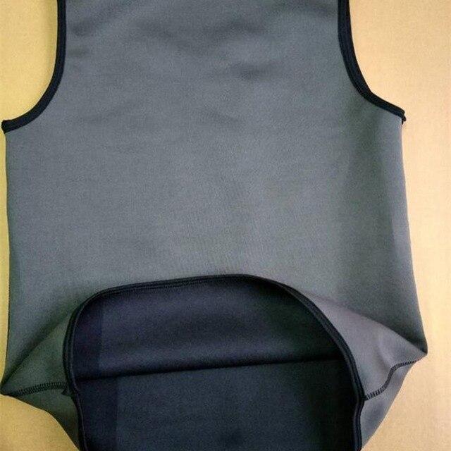 Sweat Sauna Body Shaper Men Slimming Vest Thermo Neoprene Trainer Sliming Waist Belt Durable And Comfortable Weight Loss Vest 3