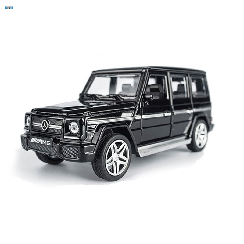 In Stock AMG G65 Diecast Metal Car Toys 1 32 Scale Pull Back Simulation Alloy Cars