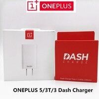 Cargador Para oneplus Oneplus Original Dash 5 t 5 3 t 3, 5 V/4A adaptador de fuente de Alimentación usb de carga rápida y El Tablero de Carga TIPO de Cable C