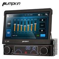 Pumpkin 1 Din Wince 6.0 Car DVD Player GPS Navigation Car Stereo 7 Inch Multimedia Touch Screen Radio Bluetooth Wifi 3G Headunit