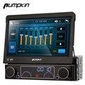 """Pumpkin universal 1din 7 """"destacável car dvd player gps de navegação de áudio estéreo do carro central multimídia rádio bluetooth wi-fi dvr"""