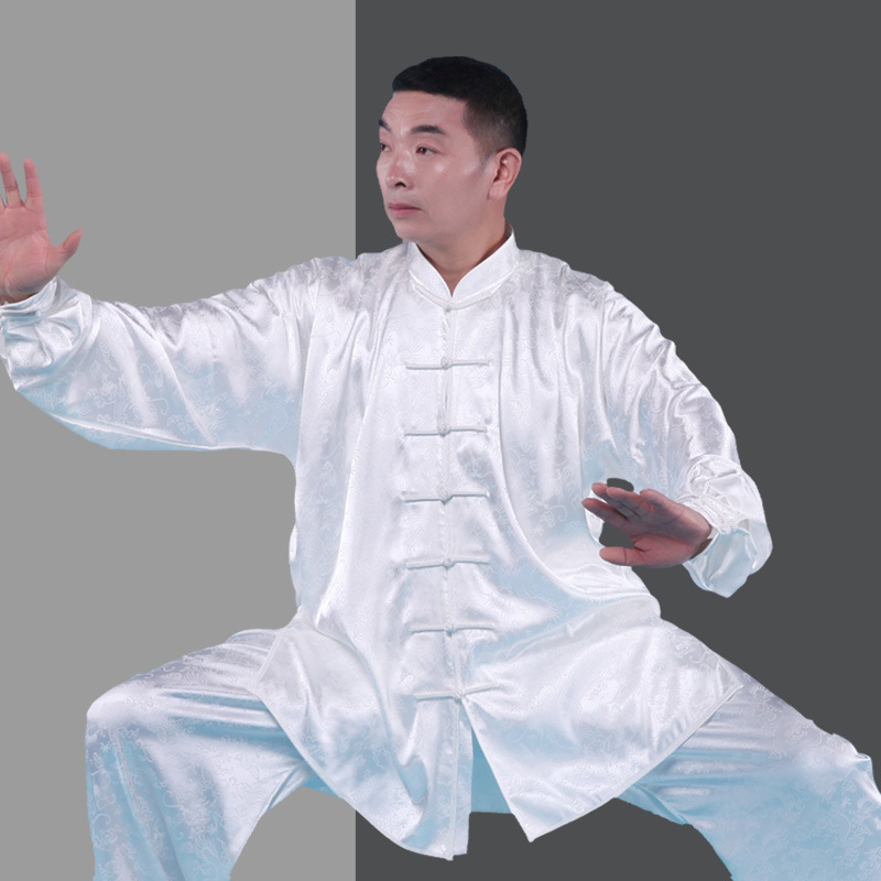 Martial Arts Jacquard Wushu Uniforms Suit Chinese Kung Fu Uniforms Plus Size Tai Chi Suit South Korea Clothing Martial Arts Sets